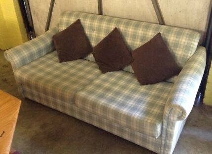 Sofa Bed - fabric covered