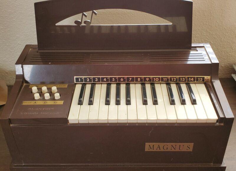 Vintage Magnus Electric Chord Organ Instrument 1960