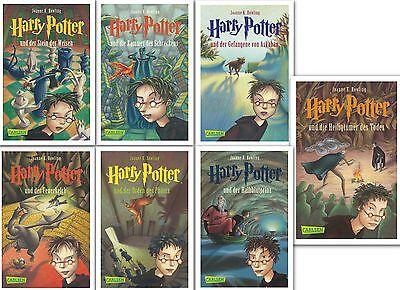 Harry Potter Gesamtausgabe, Band 1,2,3,4,5,6,7 komplett von Joanne K. Rowling