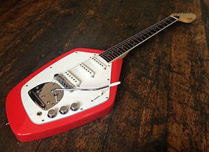 Revelation  VX-63-F  Fiesta Red Vox Electric Guitar RRP £329.99