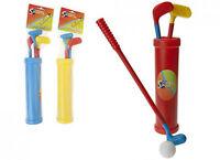 Kids Toy Mini Junior Plastic Golf Club Set- Garden/beach Sports- 3 Clubs/2 Balls - sports premier - ebay.co.uk