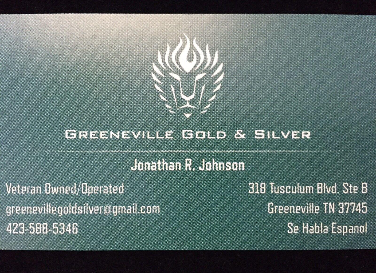 Greeneville Gold & Silver