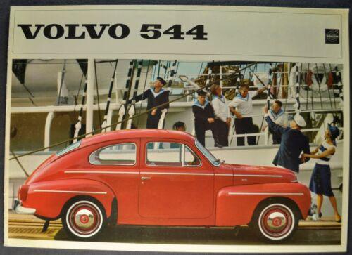 1964 Volvo 544 Sedan Catalog Sales Brochure Excellent Original 64