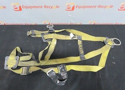 Miller 750 Safety Full Body Harness Size U Type 1 310 Lbs Capacity