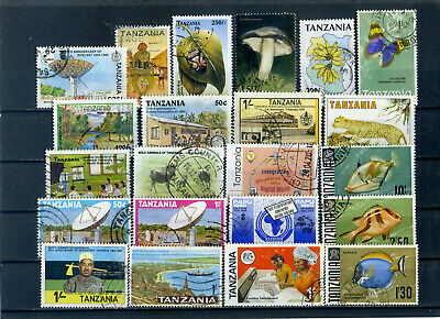 nice lot TANZANIA, all postally used