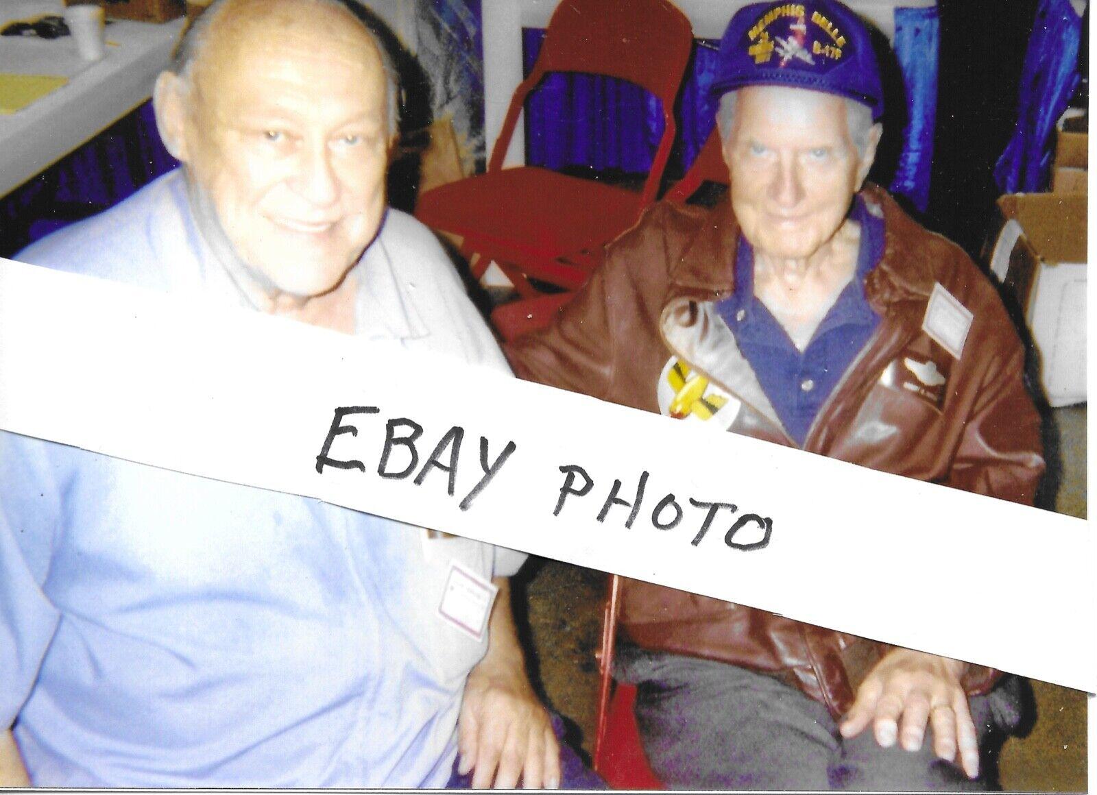 WW II HORST PETZSCHLER LUFTWAFFE ACE ROBERT MORGAN MEMPHIS BELLE PILOT  - $5.00