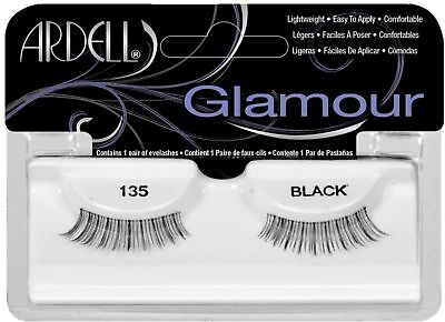 (Ardell Fashion Lashes - Natural Lashes [135] Black 1 Pair)