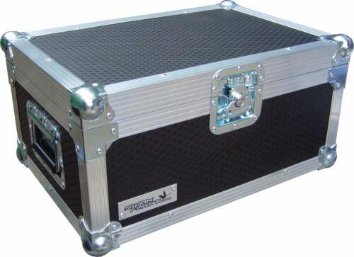 Chauvet Geyser RGB Vertical Smoke Machine Swan Flight Case (Hex)