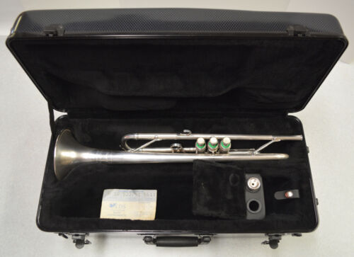 1965 F. E. OLDS M-10 MENDEZ TRUMPET IN SATIN SILVER FINISH W/ MENDEZ MOUTHPIECE