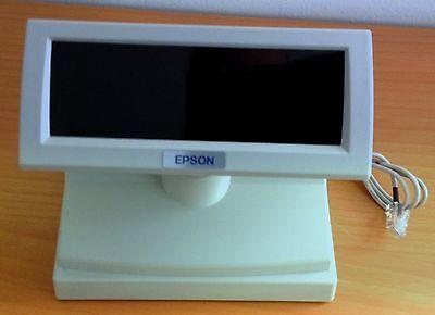 Kundenanzeige Kassendisplay Kundendisplay 2x20 Zeichen Epson Modell   DM - D110
