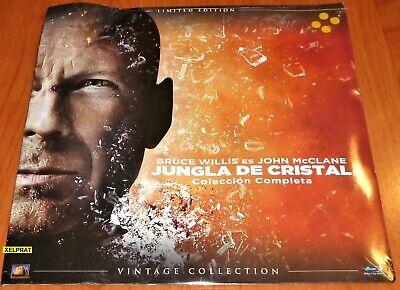 JUNGLA DE CRISTAL Coleccion completa 5 BD / DIE HARD Complete collection...