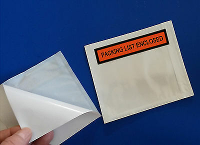 200 Packing List Enclosed 4 12 X 5 12 Slips Envelopes Packaging Box Pouches