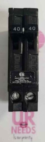 CHALLENGER UBITBA240 2P Standard Plug In Circuit Breaker 40A 120/240VAC