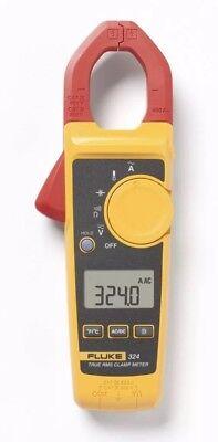 Fluke 324 40400a Ac 600v Acdc True-rms Clamp Meter Temp Capacitance New