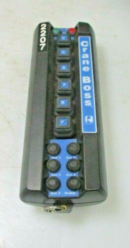 NEW CRANE BOSS INDUSTRIAL DIGITAL RADIO REMOTE CONTROL TITAN TRANSMITTER