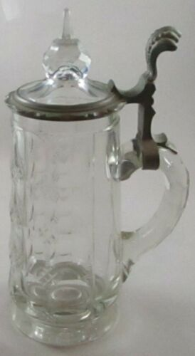 Antique Cut Glass Stein