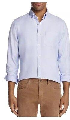 New $98 The Men's Store Bloomingdale's Light Blue Dress Button Up Shirt Sz Large ()