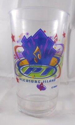 Vintage Disney Pleasure Island Plastic Souvenir Plastic Cup  READ