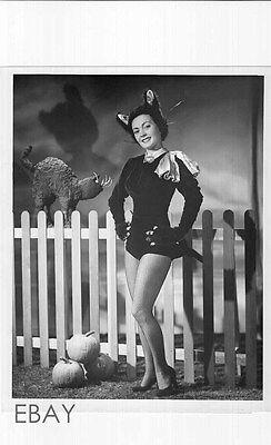 Paula Kelly leggy catsuit Halloween VINTAGE Photo Club 5 (Halloween Nightclub Photos)