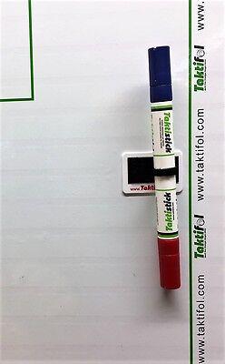 arker (trocken abwischbar) inkl. Halterung + Reinigungstuch (Trocken Abwischbare Sticker)