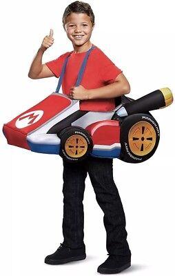 Halloween Costume, One Size Fits Most, Kids Children! New! (Mario Kart Halloween)