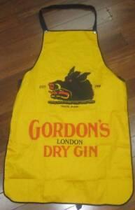 Bar Apron Beer Liquor Gordon's Dry Gin Boar Pig Motif Concord West Canada Bay Area Preview