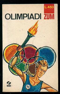 FIORE RINA OLIMPIADI SEI 1968 ZUM I° EDIZ. SPORT