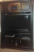 TV stand with storage QUICK SALE