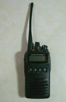 Vertex Standard Vx-454-g7-5 Uhf Radio 450-512 Mhz Dvs-8 Voice
