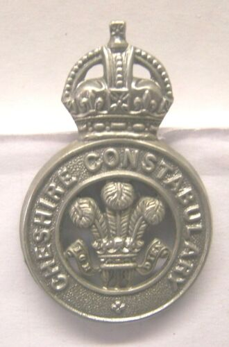 Obsolete CHESIRE CONSTABULARY Cap or Hat Badge