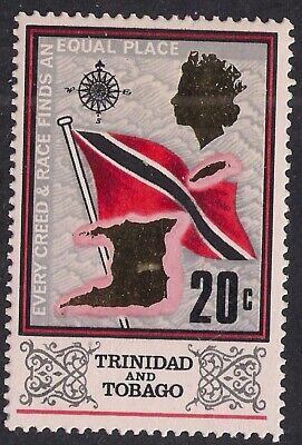 Trinidad & Tobago 1969 -1972 QE2 20c Definitive Umm SG 347 ( L1496 )