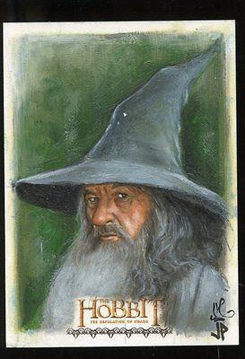2015 The Hobbit Desolation of Smaug Sketch Card - JASON POTRATZ / JACK HAI