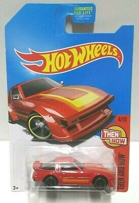 2017 Hot Wheels Then and Now Mazda RX-7 KMart Red HTF