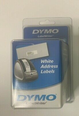 Dymo Authentic Mailing Address Labels For Labelwriter Label Printers White 30572