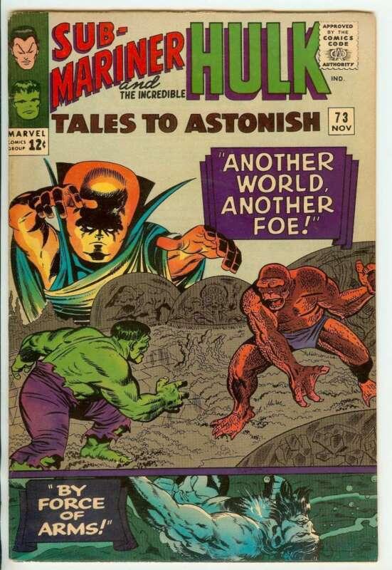 TALES TO ASTONISH #73 7.5