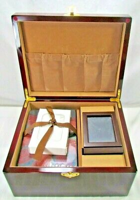 Wooden Adult Size Cremation Box For Autumn Leaves Urn Memorial