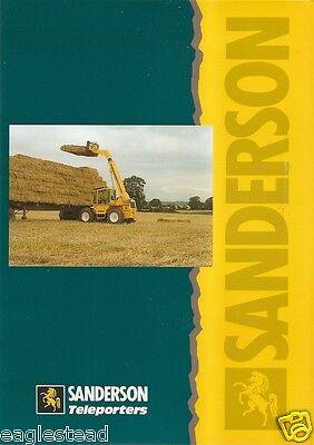 Farm Equipment Brochure   Sanderson   Product Line   Teleporters   1994  F1913