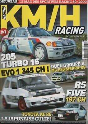KM/H RACING 1 PORSCHE 944 TURBO CUP 205 T16 BMW M3 E30 COSWORTH GrA MERC C63 AMG