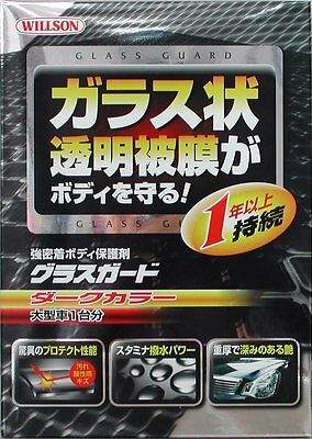 Willson Body Glass Guard Coating Care for Dark Large Cars 140ml F/S from Japan