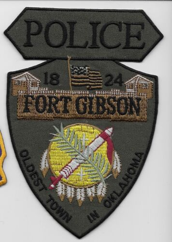 SWAT SRT NEW Fort Gibson Police State Oklahoma OK Spear Shaped