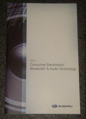 2011 Subaru Bluetooth & Audio Users Manual