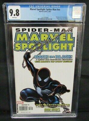 Marvel Spotlight: Spider-Man #nn (2007) Black Costume Marvel CGC 9.8 A389](Spotlight Dress Up Costumes)