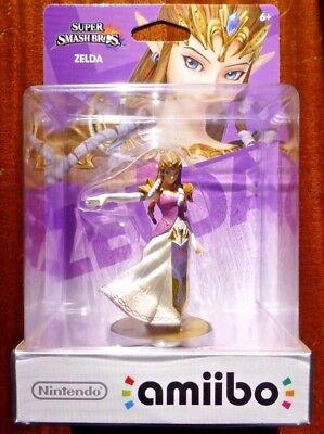 Zelda Amiibo Super Smash Bros The Legend Of Zelda Breath Of The Wild  New