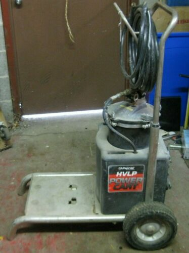 CapSpray HVLP Power Cart With Pressure Can & Hoses. LOCAL PICK UP ONLY !