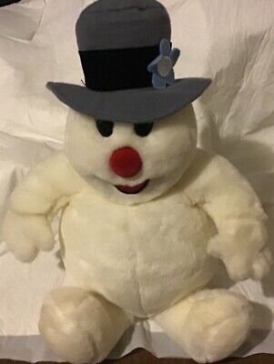 """Vintage Gemmy 15"""" Frosty the Snowman Musical Plush- Sings Frosty The Snowman"""
