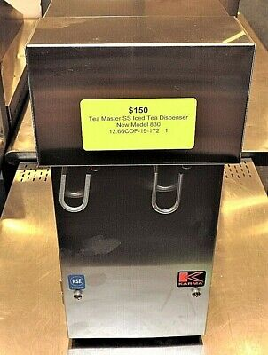 New Tea Master Iced Tea Dispenser Model 830