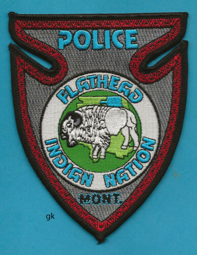FLATHEAD MONTANA INDIAN NATION  POLICE SHOULDER PATCH