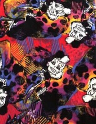 NWT LULAROE Disney Villains Collection Cruella De-vil OS Leggings