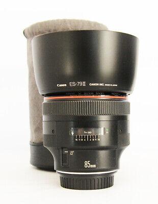 # Canon EF 85mm f/1.2 L USM Lens S/N 31089