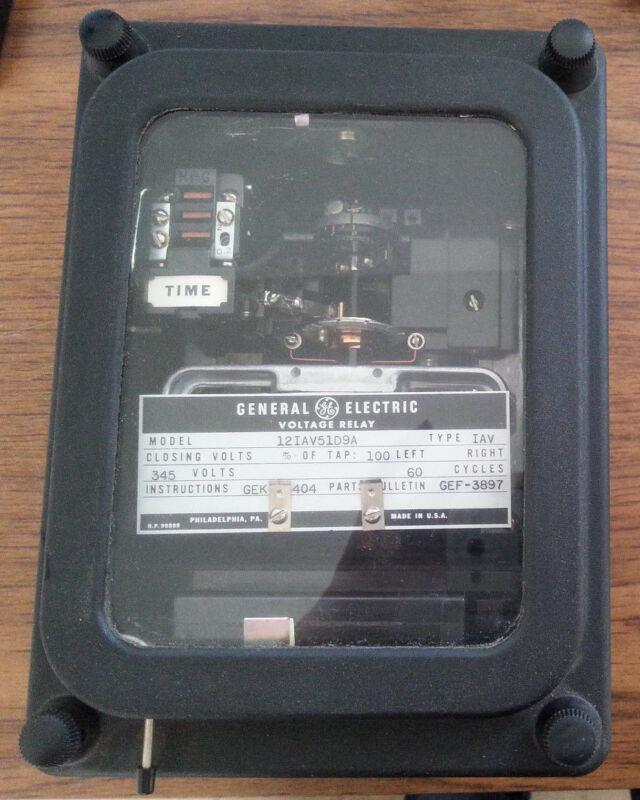 GE GENERAL ELECTRIC 345V VOLTAGE RELAY 12IAV51D9A